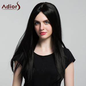 Adiors Middle Part Silky Long Straight Synthetic Wig