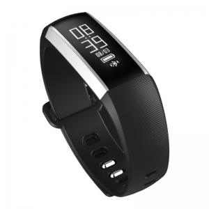 M2 Bluetooth Smart Bracelet with Blood Pressure Oxygen Measure Heart Rate Monitor - BLACK