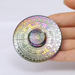 12 Constellation Print Fidget Toy Alloy Hand Spinner -