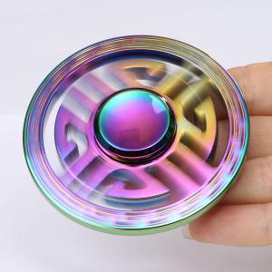 Colorful Round Hollow Out EDC Fidget Spinner -
