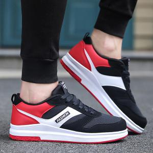 Tie Up Mesh Breathable Casual Shoes