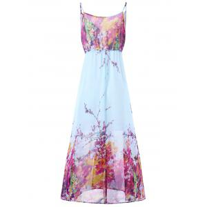 Plus Size Tiny Floral Flowy Slip Dress - TUTTI FRUTTI 2XL