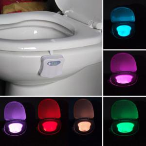 Automatic Motion Sensor Colorful LED Toilet Light