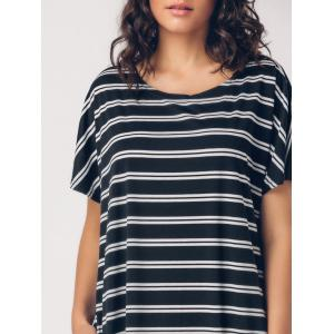 Striped Casual Middle Eest Maxi Dress -