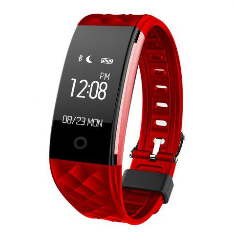 Buy S2 Bluetooth Smart Bracelet with Heart Rate Monitor Notification GPS Sport Tracker Watch