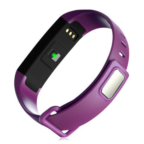 Online M2 Bluetooth Smart Bracelet with Blood Pressure Oxygen Measure Heart Rate Monitor - PURPLE  Mobile