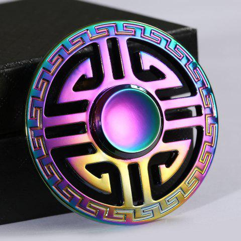 Buy Colorful Round Hollow Out EDC Fidget Spinner - 6.5*6.5*1.5CM COLORFUL Mobile