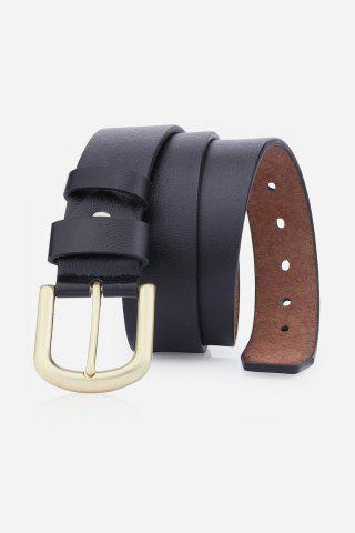 Best Rectangular Metallic Pin Buckle Fake Leather Belt