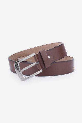 Best Pin Buckle Retro Sewing Thread Wide Belt - COFFEE  Mobile
