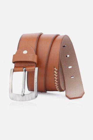 Shop Pin Buckle Retro Sewing Thread Wide Belt