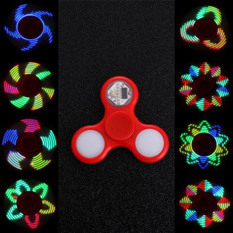 Fashion EDC Stress Reliever Fidget Spinner with 16 Pattern LED Light