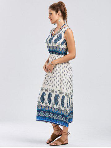 Outfit Bohemian Tribal Paisley Sleeveless Dress - XL COLORMIX Mobile