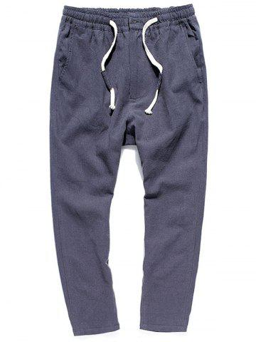 Straight Leg Multi-pocket Casual Pants