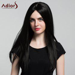 Adiors Middle Part Silky Straight Long Synthetic Wig