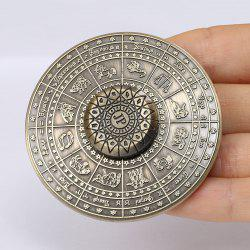 12 Constellation Print Fidget Toy Alloy Hand Spinner