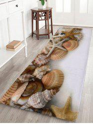 Shell Coral Velvet Extra Large Bathroom Rug