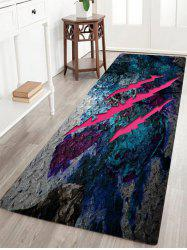 Claw Mark Pattern Slow Rebound Water Absorption Area Rug