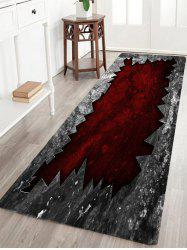 Broken Pattern Water Absorption Indoor Outdoor Area Rug