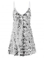 Sequin Glitter Shiny Slip Club Dress -