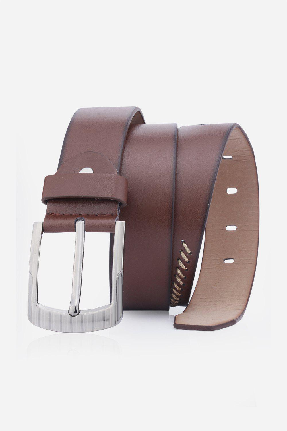 Hot Pin Buckle Retro Sewing Thread Wide Belt