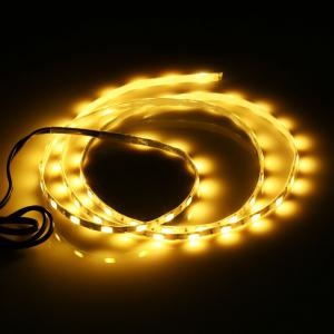 Waterproof SMD 5730 5V 1M 60 LEDs USB Strip Light - Yellow - Pattern C