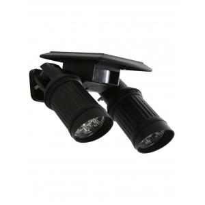 Double Head LED Solar Power Garden Wall Light