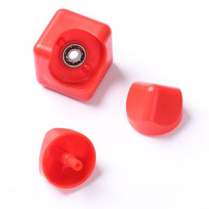 Focus Toy Plastic Fidget Cube Spinner - Rouge