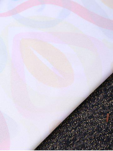 Outfits Hearts Print Round Fringed Beach Throw - ONE SIZE COLORMIX Mobile