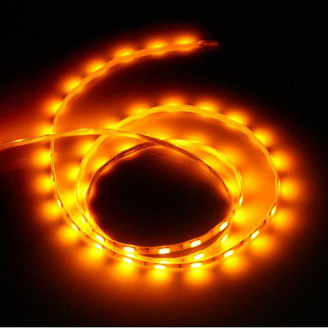New Waterproof SMD 5730 5V 1M 60 LEDs USB Strip Light - ORANGE  Mobile