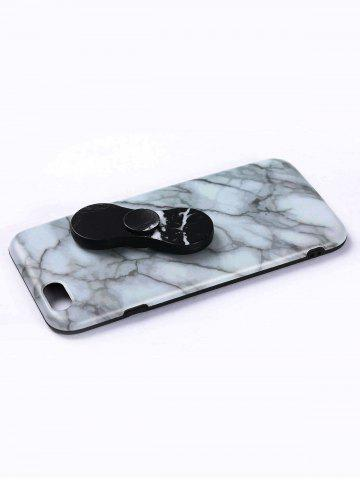 Discount Plastic Marble Print Finger Spinner Soft TPU IPhone Cover - WHITE IPHONE 6 Mobile