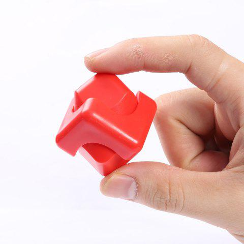 Focus Toy Plastic Fidget Cube Spinner Rouge
