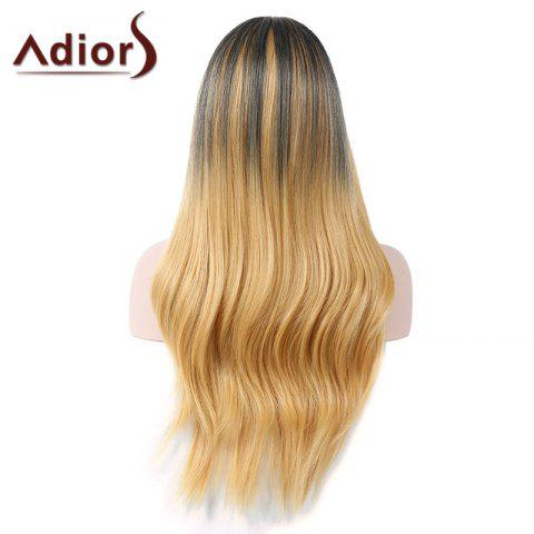 Buy Adiors Middle Part Natural Straight Colormix Long Synthetic Wig - COLORMIX  Mobile