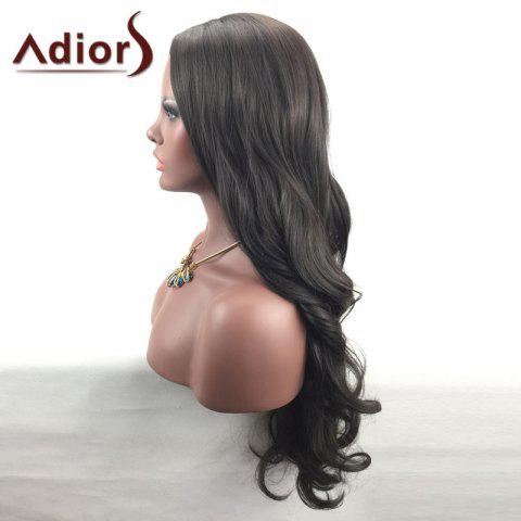Outfit Adiors Center Part Long Wavy Synthetic Wig - BROWN  Mobile