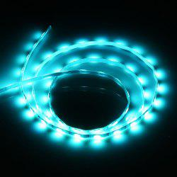 Waterproof SMD 5730 5V 1M 60 LEDs USB Strip Light - ICE BLUE