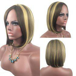 Adiors Medium Center Parting Straight Highlight Bob synthetic Wig