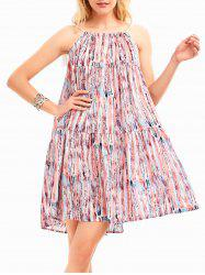 Bohemia Print Casual Tunic Swing Dress