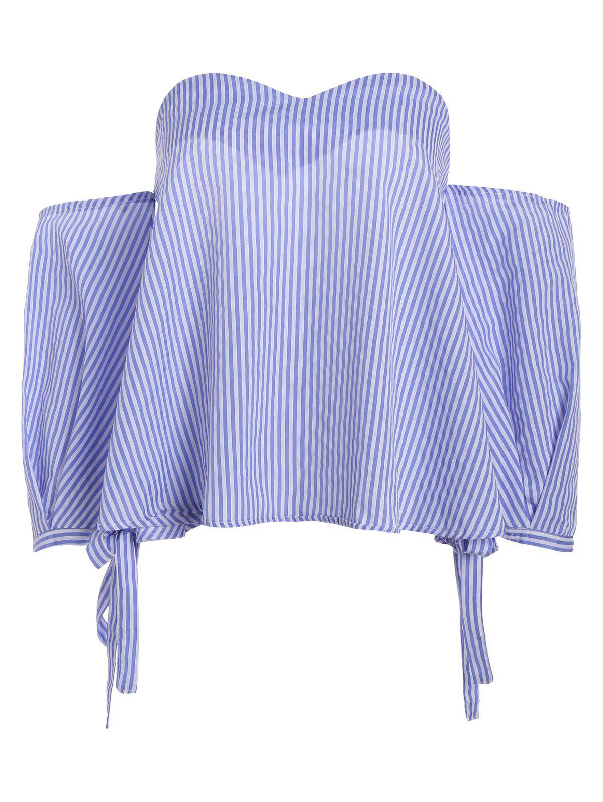 Affordable Stripe Off The Shoulder Top