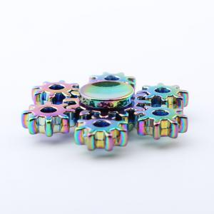 Colorful Rudder Shement Fidget Metal Spinner Anti-stress Toy -