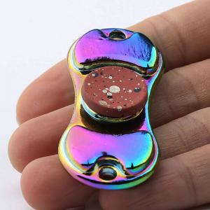 Coloré alliage Finger Gyro EDC Toy Fidget Spinner -