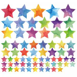 Colorful Star DIY Wall Sticker For Kids Room Decor -