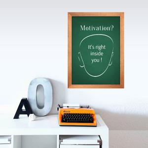 Removable Chalkboard Wall Sticker For Kids Room - GREEN 45*60CM
