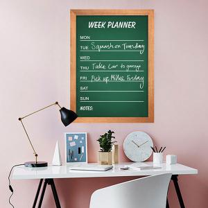 Removable Chalkboard Wall Sticker For Kids Room - Green - 45*60cm