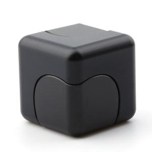 Stress Relief Alloy Cube Hand Spinner - BLACK