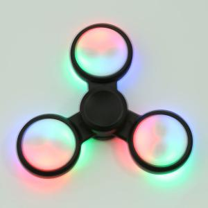 LED Light Stress Relief Triangle Fidget Spinner à main