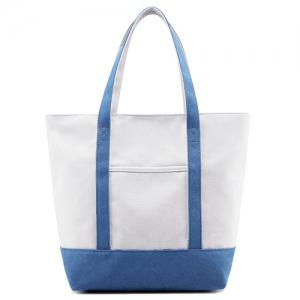 Top Zipper Canvas Tote