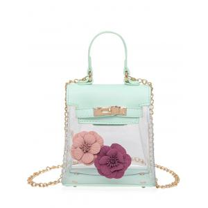 Flower Transparent Clear Handbag