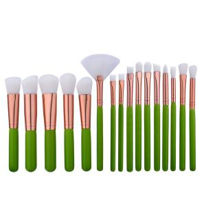 16Pcs Face Eye Mini Makeup Brushes Set -