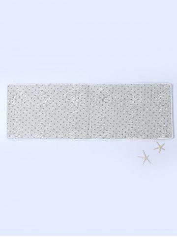 Cheap Beach Style Shell Starfish Print Bathroom Rug - W16 INCH * L47 INCH COLORMIX Mobile