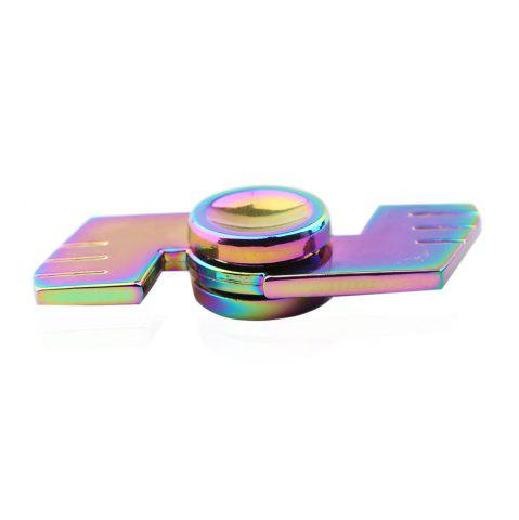 Fashion Dual-bar Colorful Fidget Metal Spinner Anti-stress Toy - COLORMIX  Mobile