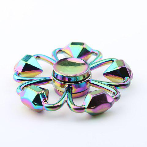 Store Colorful Diamond Shape Flower Fidget Metal Spinner Anti-stress Toy - COLORMIX  Mobile
